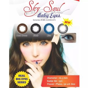 ... Lens Source Soflens SKYSOUL Softlens SKY SOUL Baby Eyes DEPKES Brown 4