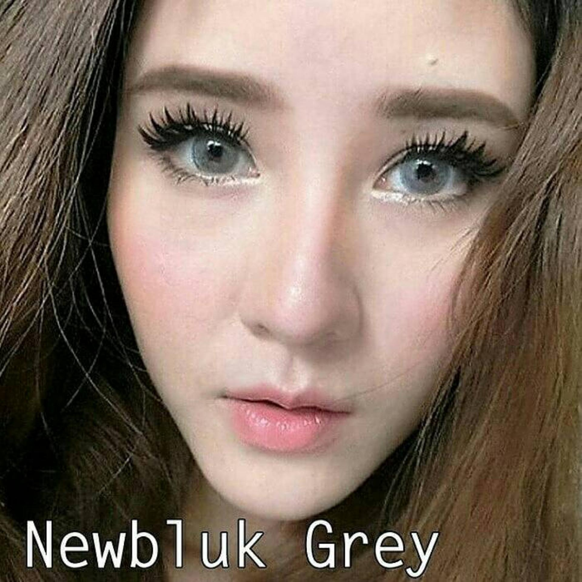 Jual Beli Softlens Newbluk Grey Normal Free Nice Look 60ml November Air 60 Ml