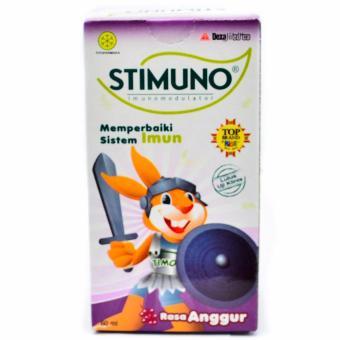 Stimuno Syrup Grape 60 Ml - Meningkatkan Daya Tahan Tubuh,Kekebalan Tubuh, Sistem Imunitas Tubuh ...