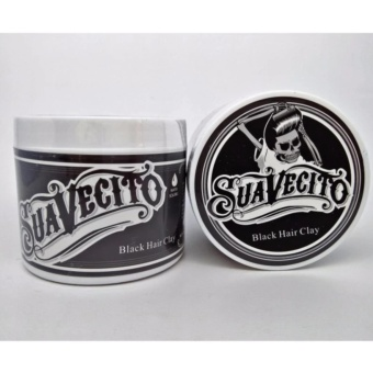 Harga Suavecito Hair Color / Coloring Clay Wax Pomade Pewarna Non Permanent – Warna HITAM/ BLACK Murah