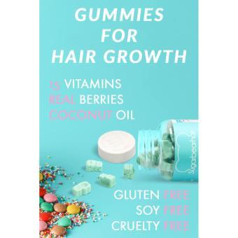 Harga Sugar Bear Hair Vitamin untuk Rambut Panjang dan Halus bentuk Gummy Bear Original USA Murah