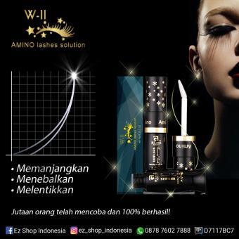 Superfine Jakarta - W-II Amino Long Lashes Solution Longer Eyelash - Bulu Mata Panjang - 6 ml - 2 botol - 3