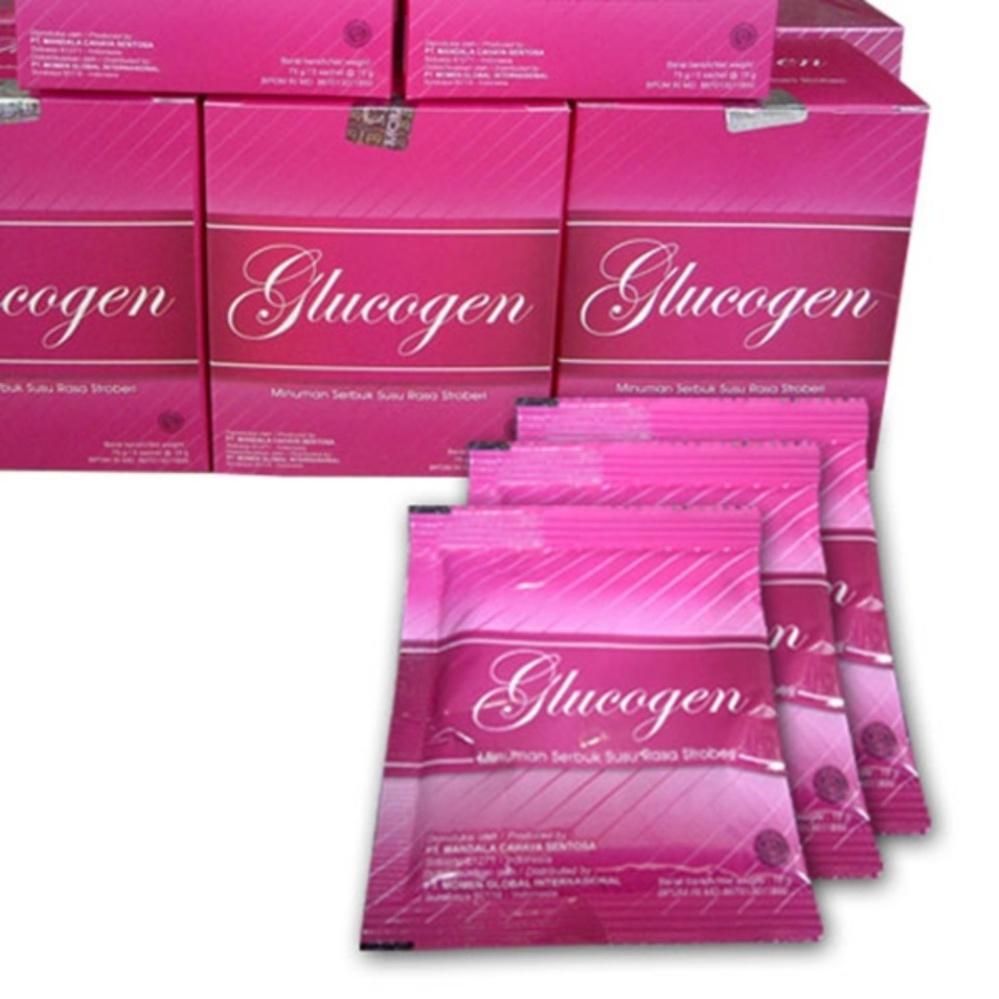 Perbandingan Harga Suplemen Pencerah Dari Moment Glucogen Belanja Murah Strawberry New
