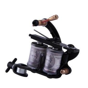 Tattoo Kit Set lengkap peralatan mesin jarum catu daya pistol tinta - International .