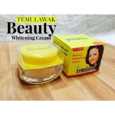 Temulawak Pot Kaca Beauty Whitening Cream - 1 pcs