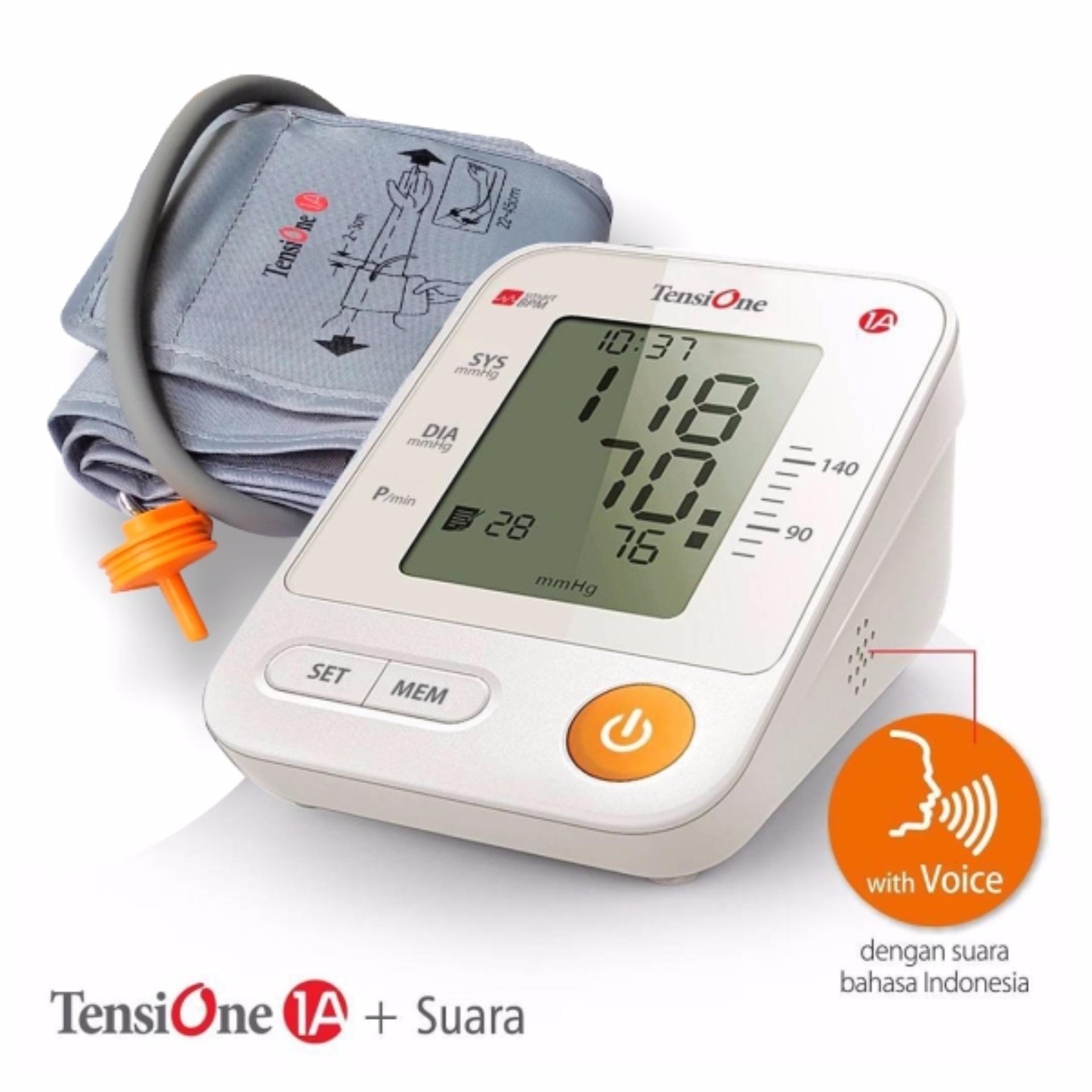 ... TENSIMETER DIGITAL DENGAN SUARA TENSIONE1A ONEMED[white] ...