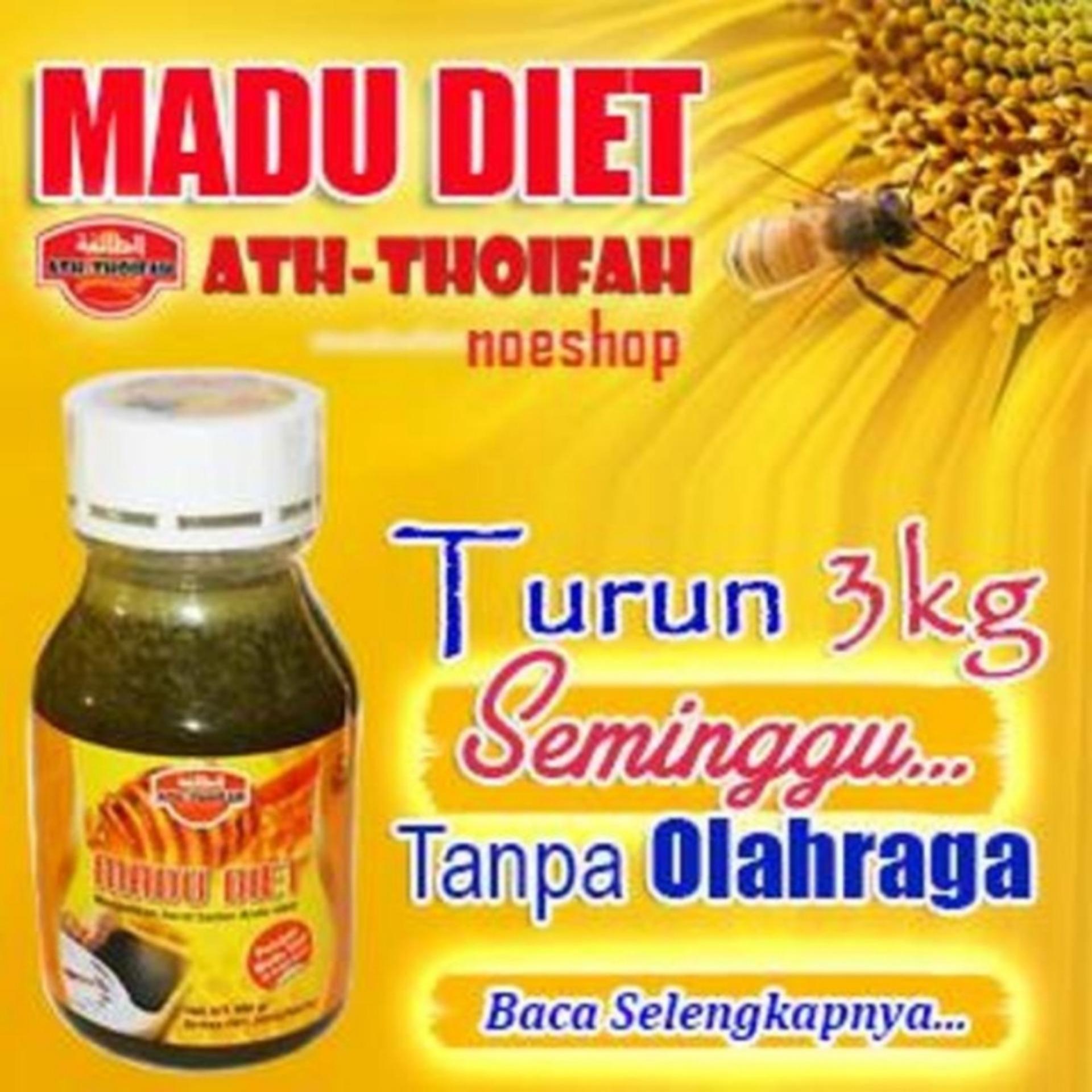 TERLARIS !!! Madu Diet Pelangsing Ath-Thoifah Original Asli ObatHerbal Langsing Detox Sehat