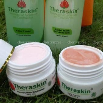 Gambar Produk Rinci Theraskin Original BPOM Set Paket Perawatan Kulit Berjerawat Acne Suncare Brightener Acne Cream