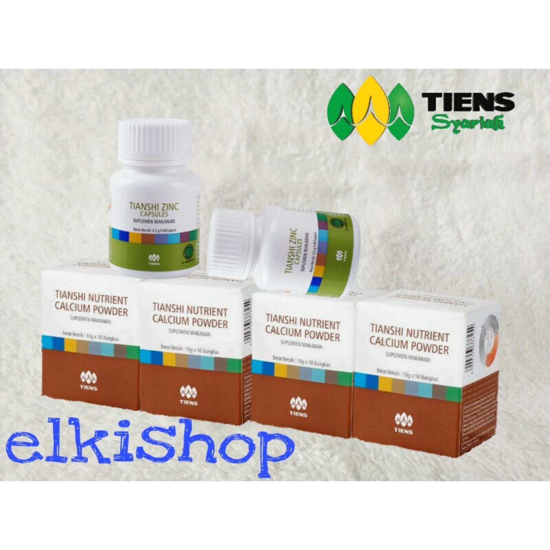 Tiens Paket Peninggi Badan 32 3 Box Nutrient Calcium Powder Tianshi Silver Zinc Nhcp Kalsium Dewasa Herbal Ab1 Terbaik Di Dunia 4 High