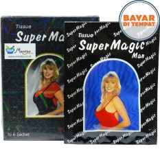 Tissue / Tisu Super Power Magic Man 1 Kotak Isi 6