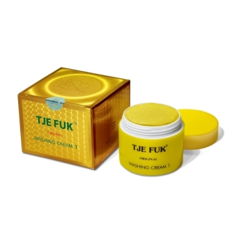Tje Fuk Washing Cream With Scrub 150gr