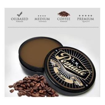 T.M Pomade -Medium- Coffee
