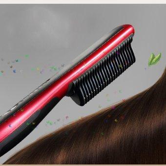 Harga Uap portabel terbaru keramik pelurus rambut pelurus/pengeritingdatar besi AU steker Murah