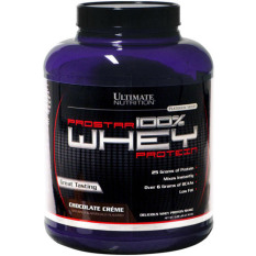 Ultimate Nutrition Prostar 100 % Whey Protein 5lbs Coklat