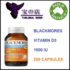 Vitamin D3 1000IU - 200 Capsules