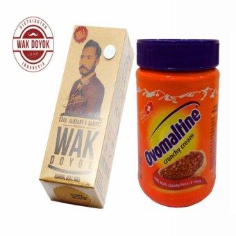 Harga Wak Doyok Cream Original Hologram + Ovomaltine Crunchy Cream Selai Coklat – 380gr – BPOM & EXP LAMA Murah