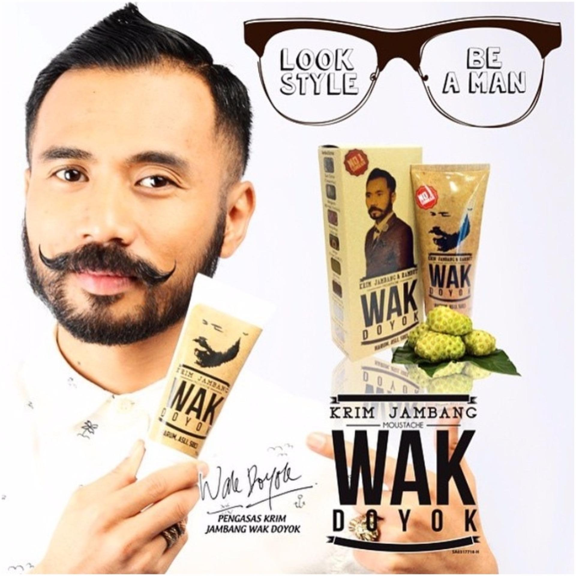 Hot Deals Wak Doyok Krim Penumbuh Rambut Jambang Dan Bulu Alkatel Ampuh 75ml