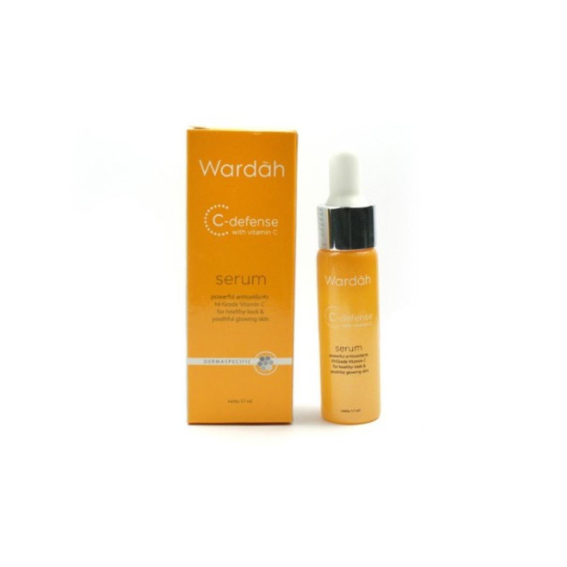 Sensatia Facial C Serum Dry To Normal 60ml Melembabkan Mencerahkan Botanicals 60 Ml Flash Sale Wardah Defense