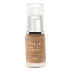 Wardah Exclusive Liquid Foundation 03 Sandy Beige
