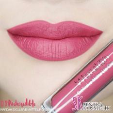 Wardah Exclusive Matte Lip Cream 08 - Pinkcredible