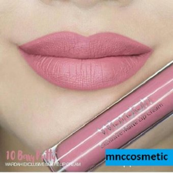 Wardah Exclusive Matte Lip Cream 10 Berry Pretty