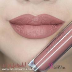 Wardah Exclusive Matte Lip Cream 11 - oh so nude