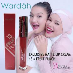 Wardah Exclusive Matte Lip Cream - 13 Fruit Punch
