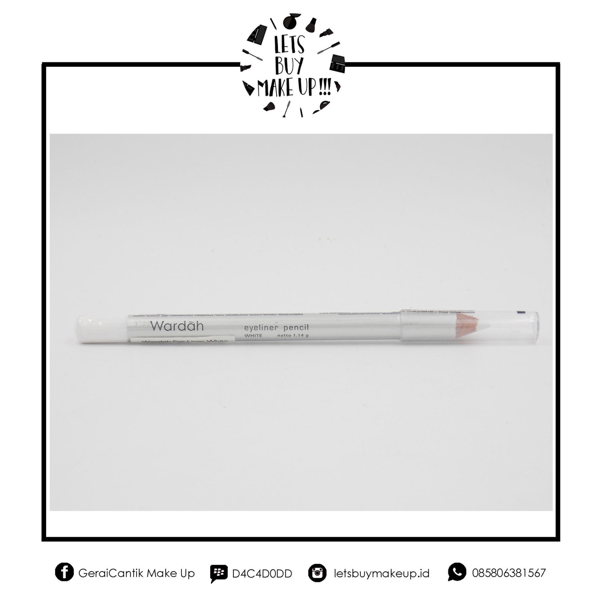 Flash Sale Wardah - Eye Liner - Pencil - White