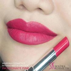 Wardah Intense Matte Lipstick - 07 Possionate Pink
