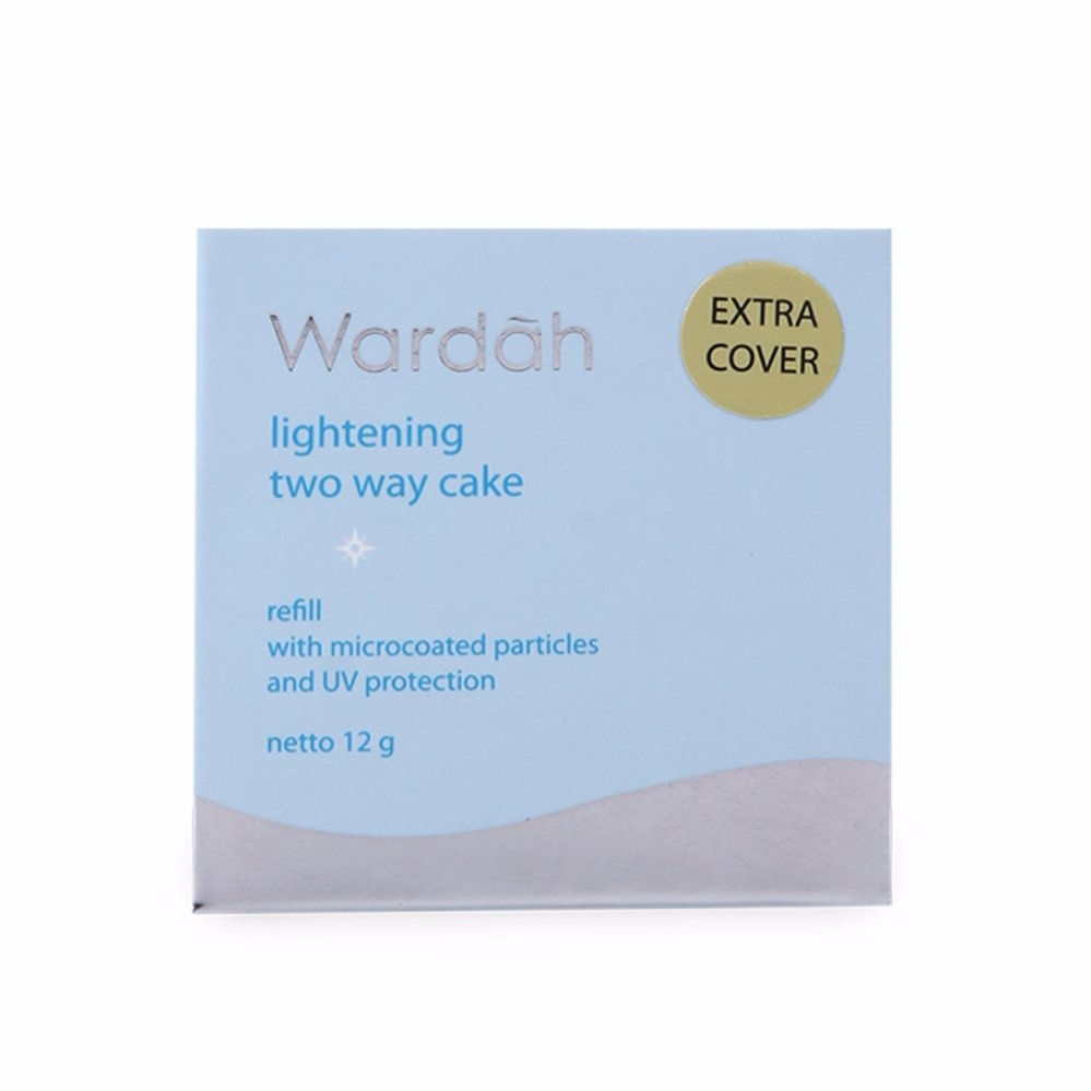 Wardah Lightening Two Way Cake Extra Cover Refill 03sheer Pink Twc Exclusive Bedak Padat Recommended Paket 2pcs