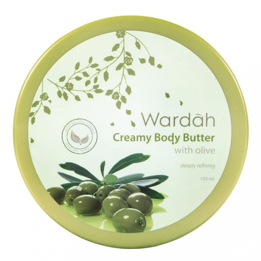 Shopping Comparison Wardah Olive Body Butter 150ml