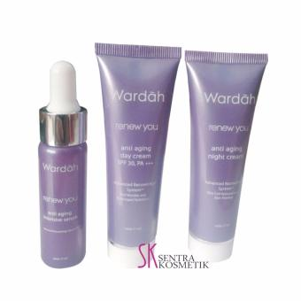 Wardah Renew You Paket Serum - 17 ml | Lazada Indonesia
