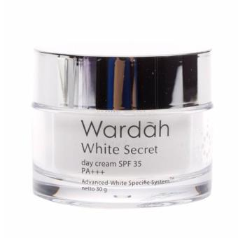 Wardah White Secret Day Cream -Krim pagi pemutih wajah