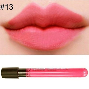 Waterproof Lip Gloss Matte Velvet Long Lasting Lipstick Pencil Cosmetic - intl