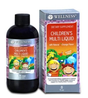 Harga Wellness Children's Multi Liquid