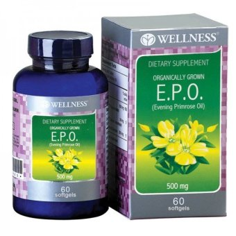 Harga Wellness Evening Primrose Oil - EPO - 500mg