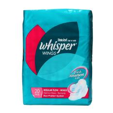 Whisper Napkin Regular 20s