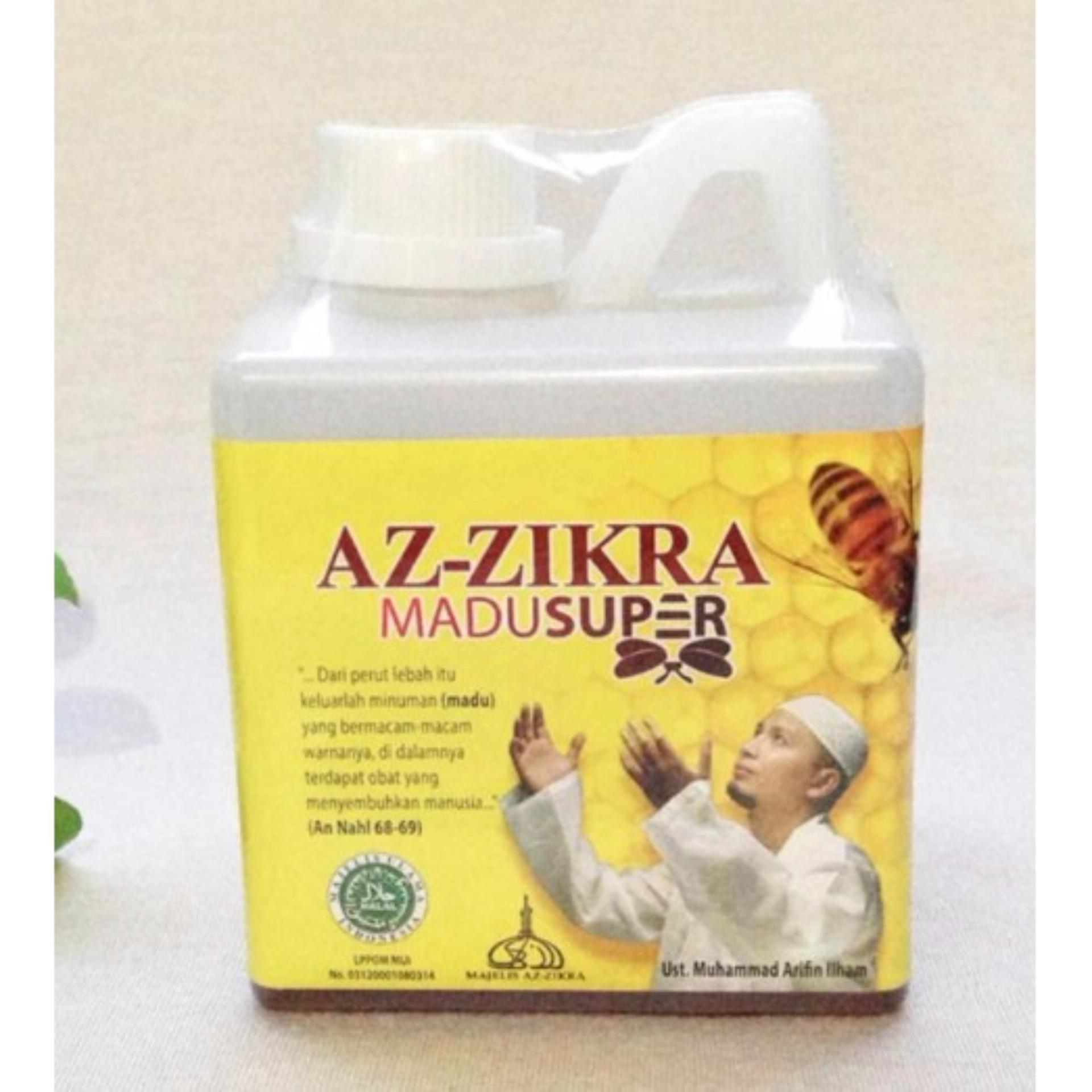 ZIE Madu Super Az Zikra 500 gr Doa Ustadz Arifin Ilham Asli Jaga Kesehatan ...