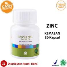 Zinc Capsules Tiens Penggemuk Badan Promo Kemasan 30 Kapsul + Free Gift + Member Card by TS1