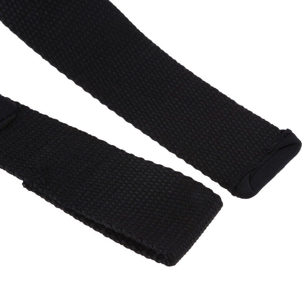 1 pasang yang dapat antislip tali pergelangan tangan untuk angkat berat dumbell Gym .