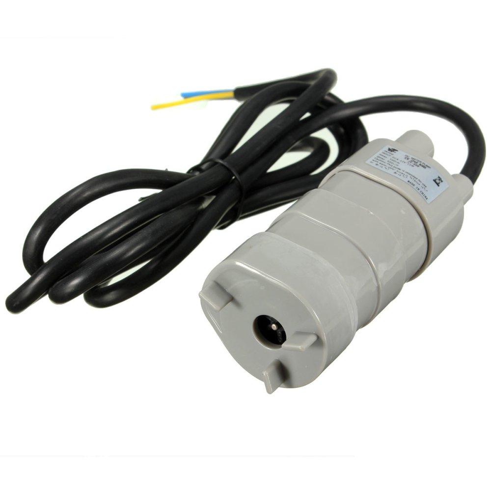 12 V New DC 1,2 Amp Mikro Terendam Motor Pompa Air 5 m 14Liter/Minimal 840 Liter/H 6-15 V