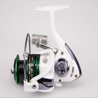 12+1 Bearing Balls Spinning reel fishing reel YA2000-YA5000 5.5:1spinning reel casting fishing reel lure tackle line (2000) - intl