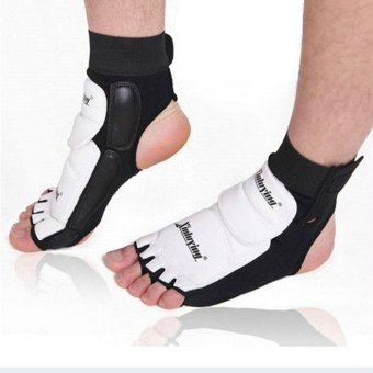 1pair Ankle Brace Support Pad Guard Foot Gloves Protection MMA/MuayThai/Boxing Size XXL