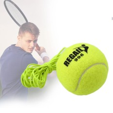 1Pc Tennis Ball With String Trainer Replacement Rubber Woolen Balls Sport - intl