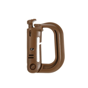 Jual 1Pcs Military Portable D Ring Clip Mountain Climbing