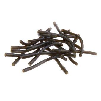 REVIEW 20pcs Aligners Carp Fishing Hook Line Aligner Hair Rig Terminal Tackle(Green) – intl TERMURAH