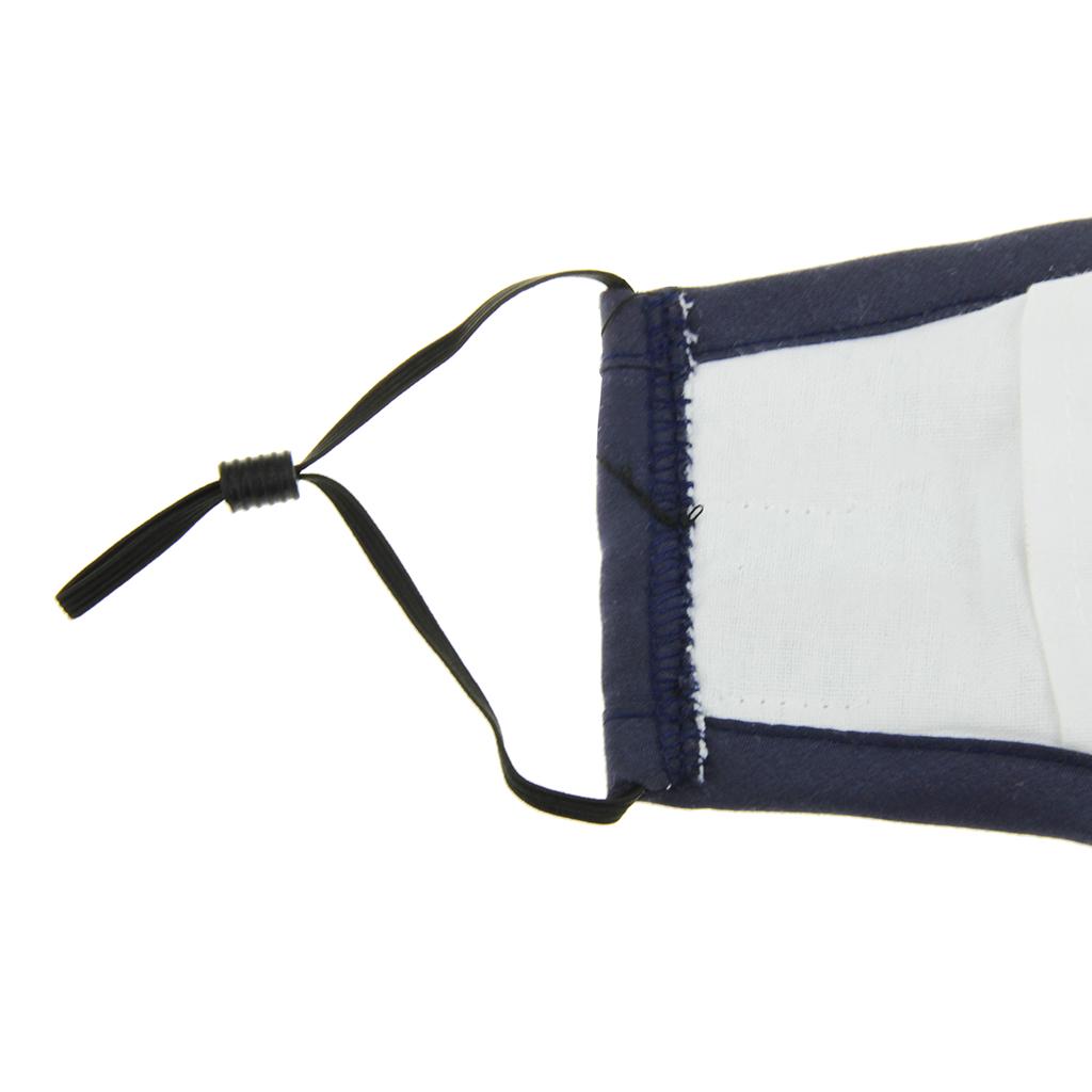 3 buah katup nafas mudah bernapas anti debu PM 2.5 karbon aktifwajah masker .