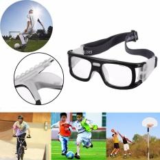 ... 3 Pcs Olahraga Sepak Bola Basket Kacamata Mata Kacamata Pengaman Pelindung Elastis Hitam Intl