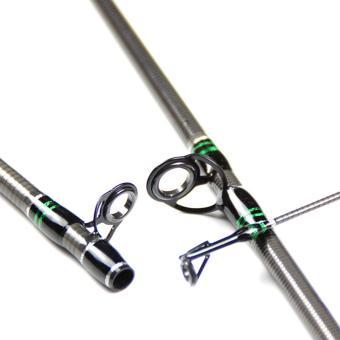360DSC 1.98 m serat karbon tuang tongkat pancing - Hitam - 4
