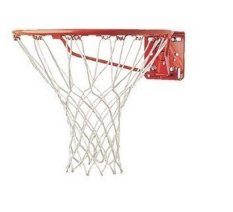 4 Pcs 4mm Durable Nylon Replacement 12 Loops Basketball Net Backboard Netting Mesh - intl